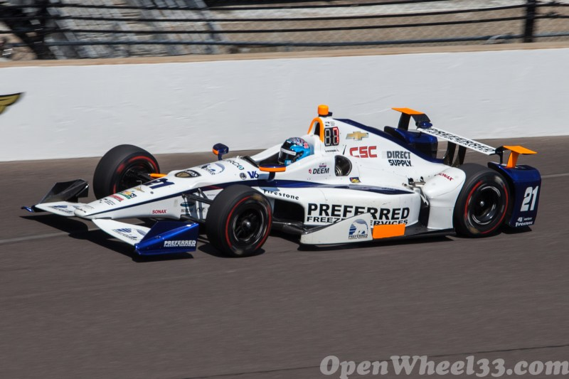 Liveries of the 101st Running of the Indianapolis 500 Mile Race - 2017 INDY500 CD No. 21