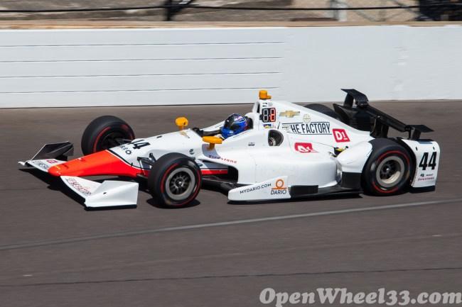 2017 Verizon IndyCar Series Driver Car Quiz - 2017 INDY500 CD No. 44
