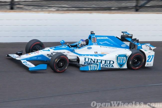 2017 Verizon IndyCar Series Driver Car Quiz - 2017 INDY500 P4 No. 27