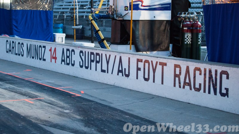 Pit Walls of the 101st Running of the Indianapolis 500 Mile Race - 2017 INDY500 PW No. 14