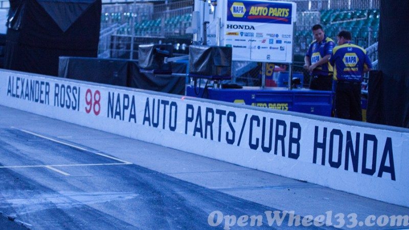 Pit Walls of the 101st Running of the Indianapolis 500 Mile Race - 2017 INDY500 PW No. 98