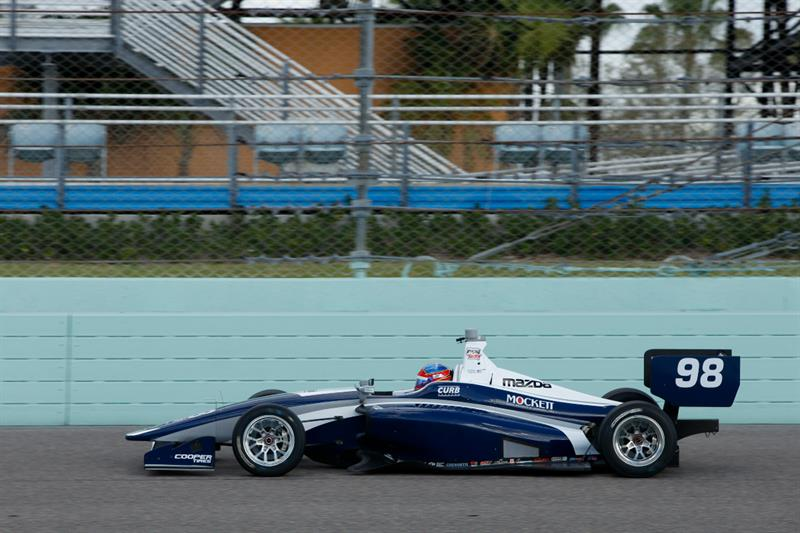 2018 INDY LIGHTS LIVERIES ANDRETTI STEINBRENNER RACING #98 - 2018 LIGHTS CAR 98 HOMESTEAD RC TEST