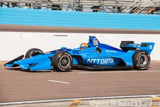 2018 Verizon IndyCar Series Driver Car Quiz - 2018 Phoenix Test No. 10