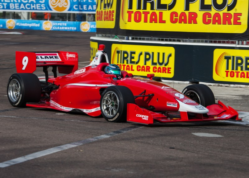 2018 Indy Lights Liveries From St. Petersburg - 2018 ST PETE LIGHTS No. 9