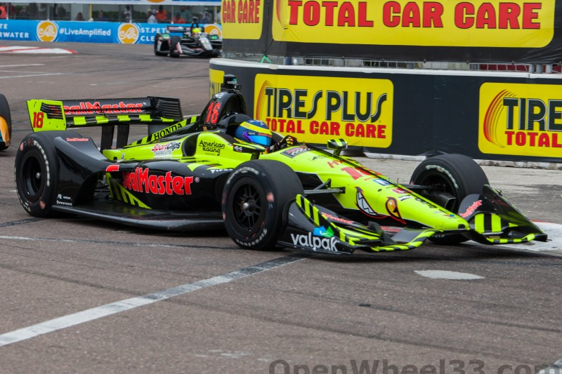 2018 Verizon IndyCar Series Firestone GP of St. Petersburg Liveries - 2018 ST PETE No. 18