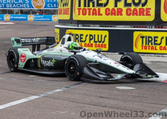 2018 Verizon IndyCar Series Driver Car Quiz - 2018 ST PETE No. 19