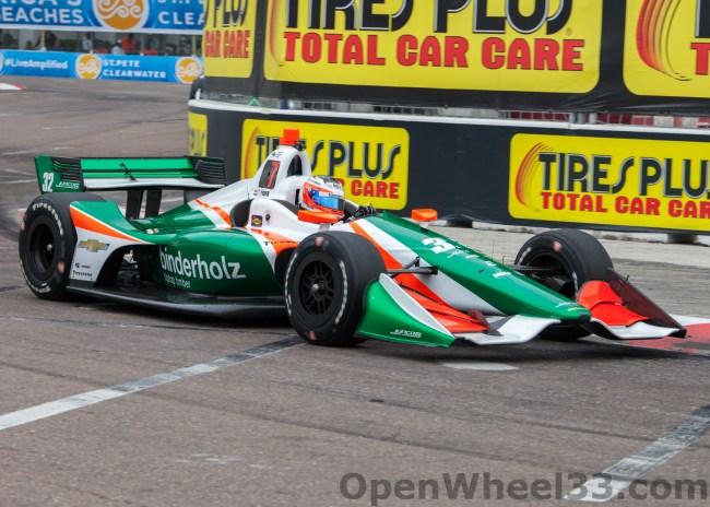 2018 Verizon IndyCar Series Driver Car Quiz - 2018 ST PETE No. 32