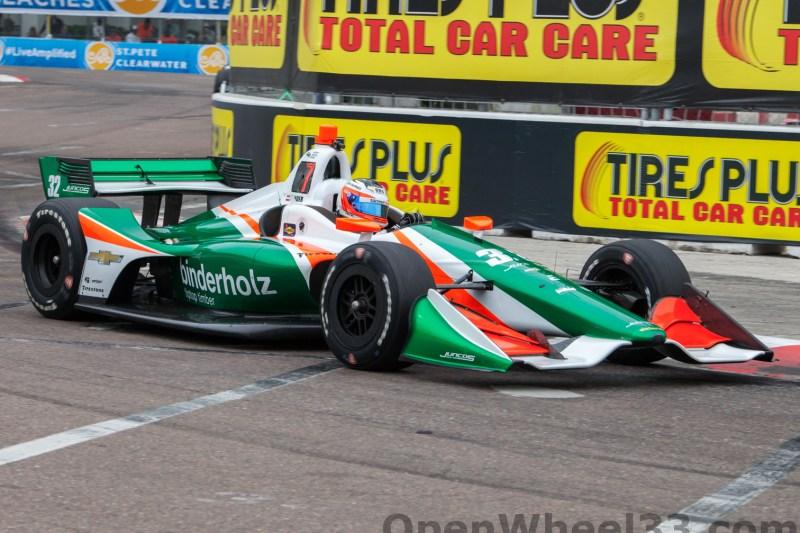 2018 Verizon IndyCar Series Firestone GP of St. Petersburg Liveries - 2018 ST PETE No. 32