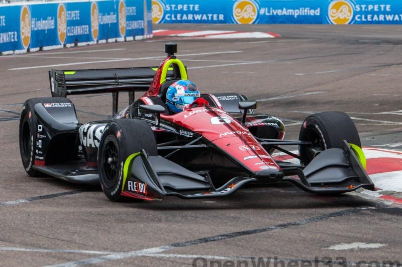 2018 Verizon IndyCar Series Firestone GP of St. Petersburg Liveries - 2018 ST PETE No. 6