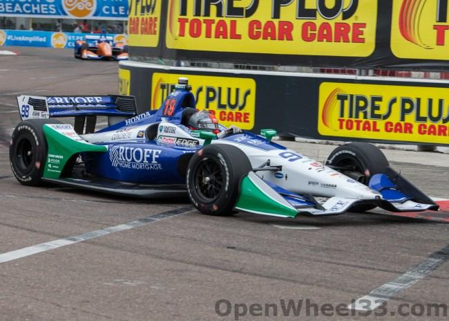 2018 Verizon IndyCar Series Driver Car Quiz - 2018 ST PETE No. 98