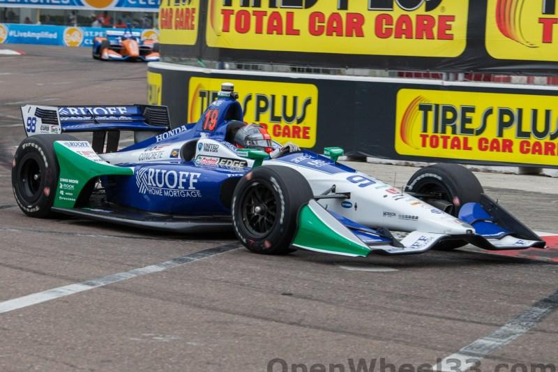 2018 Verizon IndyCar Series Firestone GP of St. Petersburg Liveries - 2018 ST PETE No. 98