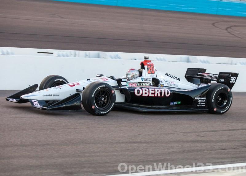 2018 Verizon IndyCar Series Desert Diamond West Valley Phoenix GP Liveries - 2018 PHOENIX No. 98
