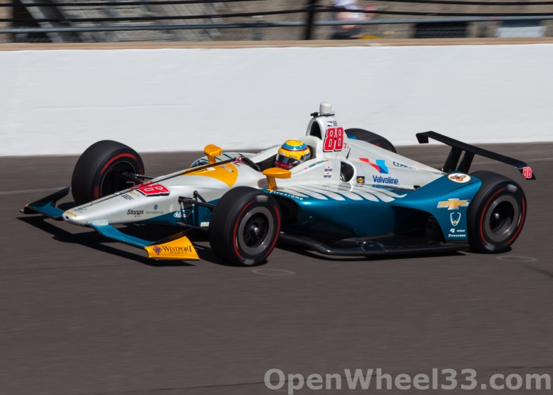 Liveries of the 102nd Running of the Indianapolis 500 Mile Race - 2018 INDY 500 CD No. 88