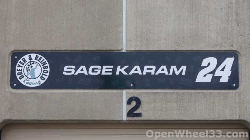2018 Month of May Garage Signs at Indianapolis Motor Speedway - 2018 INDY 500 GS No. 24