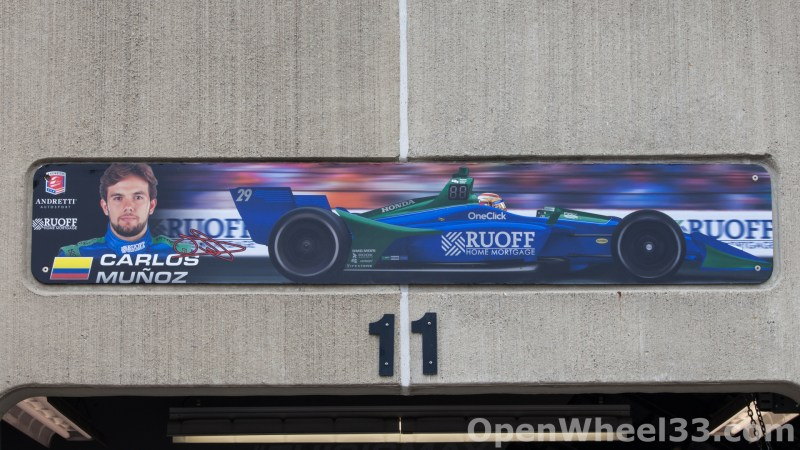 2018 Month of May Garage Signs at Indianapolis Motor Speedway - 2018 INDY 500 GS No. 29