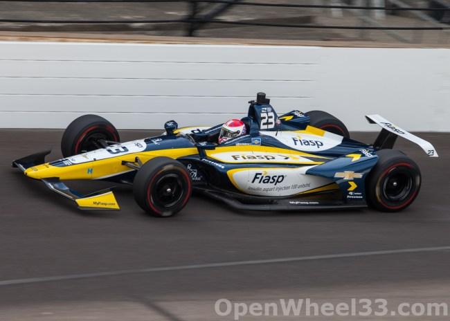 2018 Verizon IndyCar Series Driver Car Quiz - 2018 INDY 500 P3 No. 23