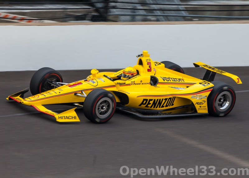 Liveries of the 102nd Running of the Indianapolis 500 Mile Race - 2018 INDY 500 P3 No. 3