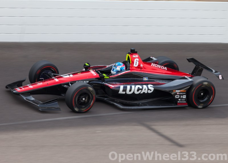Liveries of the 102nd Running of the Indianapolis 500 Mile Race - 2018 INDY 500 P3 No. 6