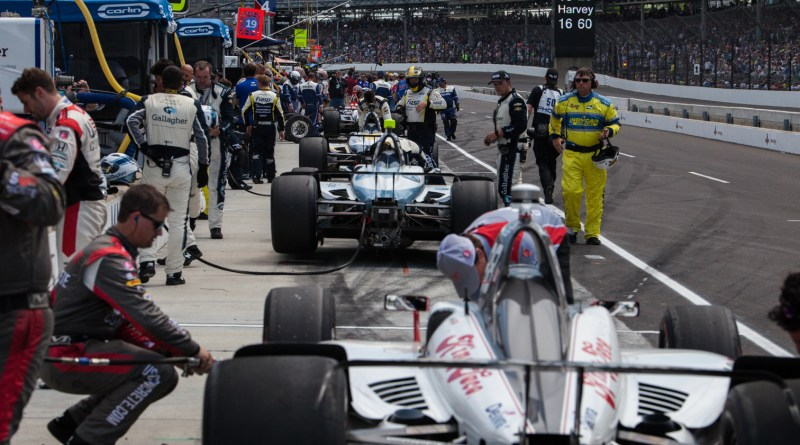 2018 INDY 500 RD 16