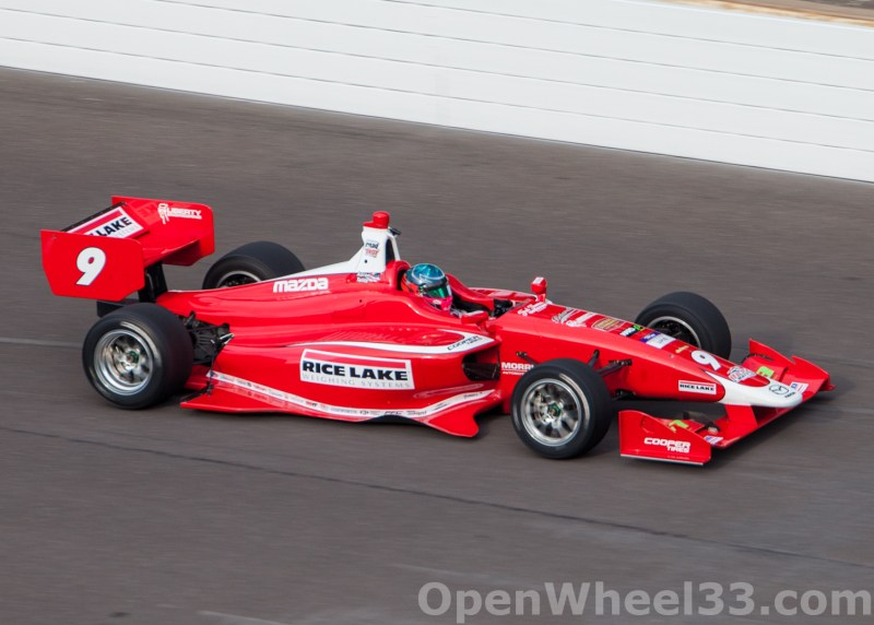 2018 Indy Lights Liveries From The Indianapolis Motor Speedway Road Course - 2018 INDYGP LIGHTS No. 9