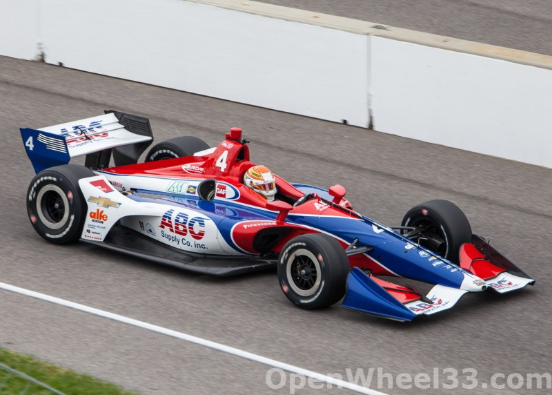 2018 Verizon IndyCar Series INDYCAR Grand Prix Liveries - 2018 INDYGP No. 4