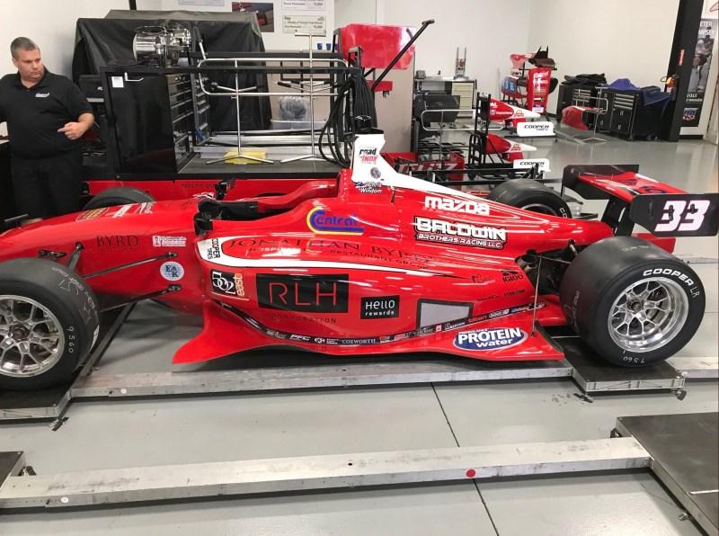 2018 INDY LIGHTS LIVERIES BELARDI AUTO RACING W/BYRD & BALDWIN #33 - 2018 LIGHTS CAR 33 PRE IMS TEST