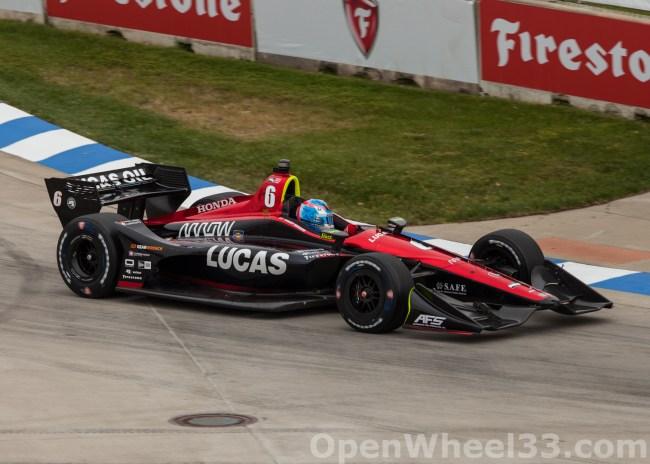 2018 Verizon IndyCar Series Driver Car Quiz - 2018 DETROIT GP No. 6
