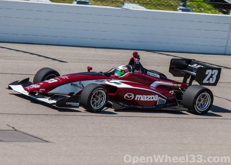 2018 Indy Lights Liveries From Iowa Speedway - 2018 IOWA LIGHTS No. 23