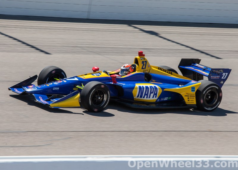 2018 Verizon IndyCar Series Iowa Corn 300 Liveries - 2018 IOWA No. 27
