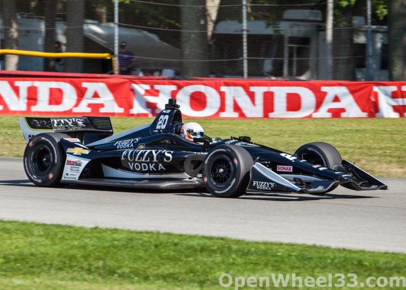 2018 Verizon IndyCar Series Honda Indy 200 at Mid-Ohio Liveries - 2018 MIDOHIO No. 20