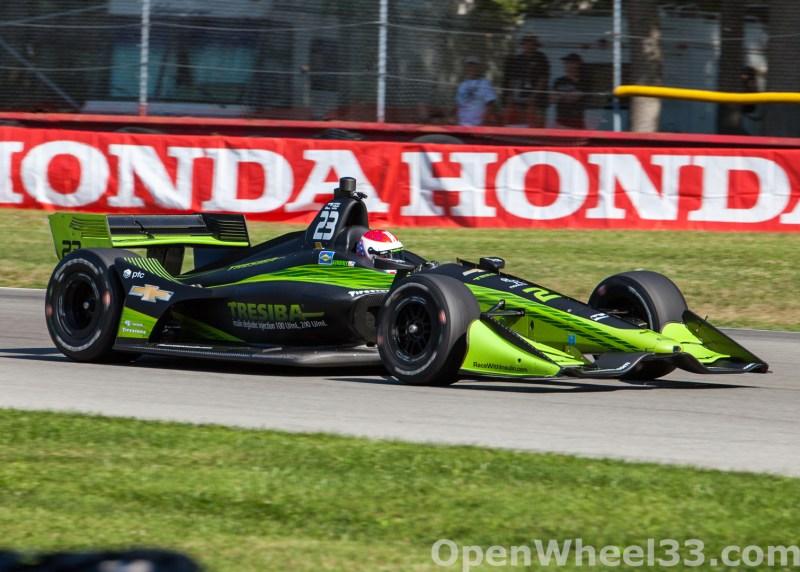 2018 Verizon IndyCar Series Honda Indy 200 at Mid-Ohio Liveries - 2018 MIDOHIO No. 23