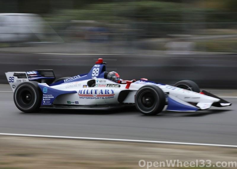 2018 Verizon IndyCar Series Grand Prix of Portland Liveries - 2018 PORTLAND No. 98