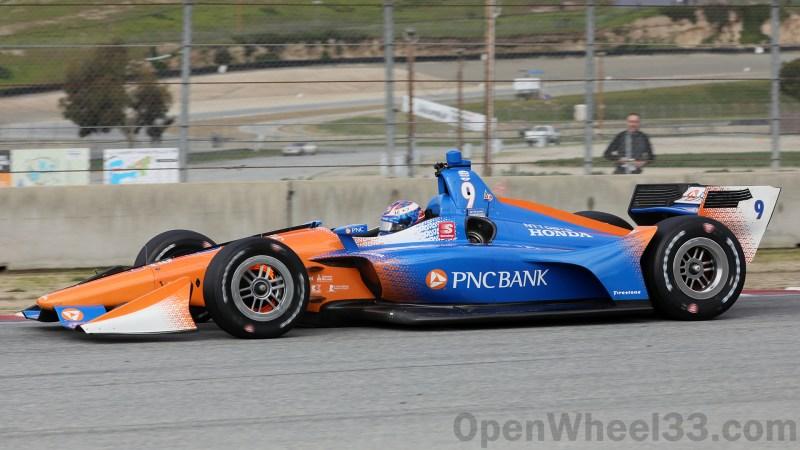 2019 NTT IndyCar Series Liveries from WeatherTech Raceway Laguna Seca - 2019 FEB LAGUNA No. 9