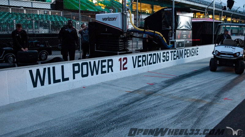 Pit Wall Signs - 2019 103rd Running of the Indianapolis 500 Mile Race - 2019 INDYCAR LIVERIES INDY500 PIT WALL No. 12
