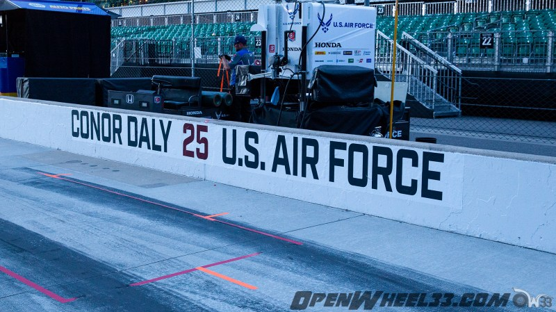 Pit Wall Signs - 2019 103rd Running of the Indianapolis 500 Mile Race - 2019 INDYCAR LIVERIES INDY500 PIT WALL No. 25