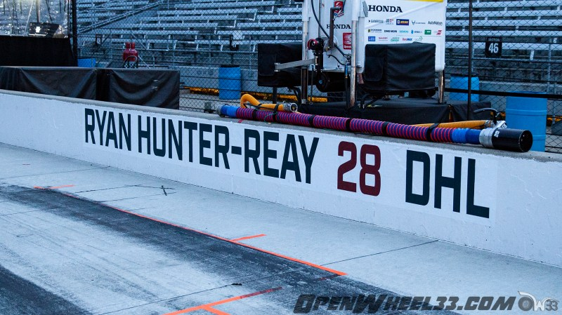 Pit Wall Signs - 2019 103rd Running of the Indianapolis 500 Mile Race - 2019 INDYCAR LIVERIES INDY500 PIT WALL No. 28