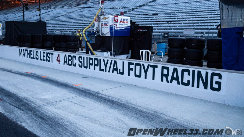 Pit Wall Signs - 2019 103rd Running of the Indianapolis 500 Mile Race - 2019 INDYCAR LIVERIES INDY500 PIT WALL No. 4
