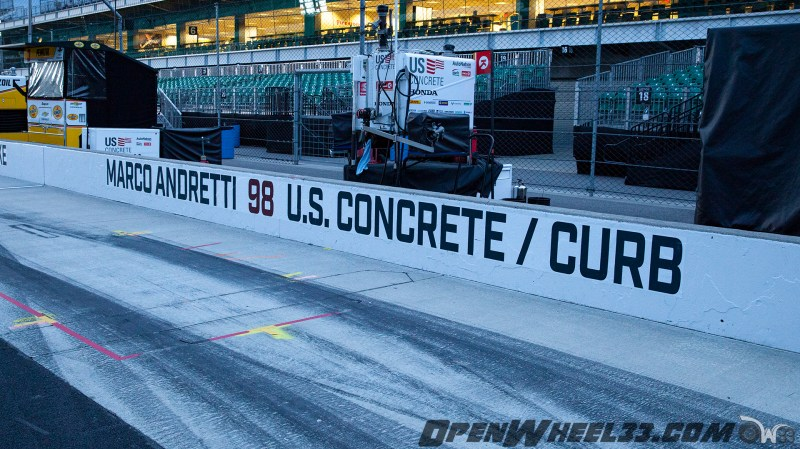Pit Wall Signs - 2019 103rd Running of the Indianapolis 500 Mile Race - 2019 INDYCAR LIVERIES INDY500 PIT WALL No. 98