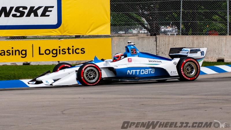 Liveries – 2019 NTT IndyCar Series Chevrolet Detroit Grand Prix - 2019 INDYCAR LIVERIES DETROITGP INDYCAR CAR No. 10