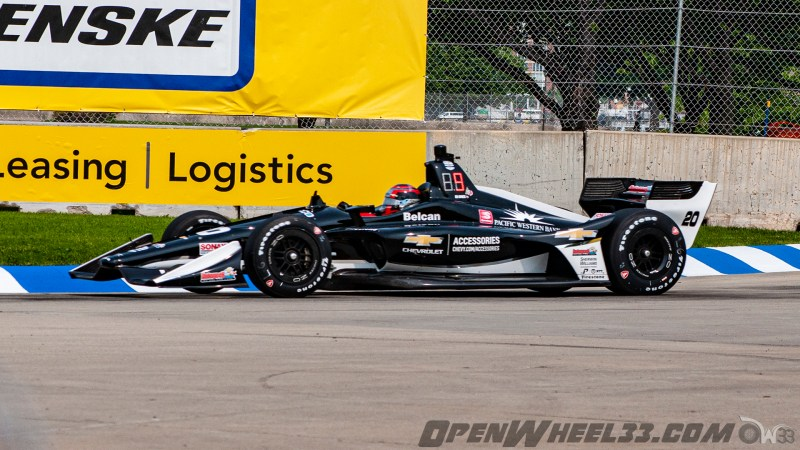 Liveries – 2019 NTT IndyCar Series Chevrolet Detroit Grand Prix - 2019 INDYCAR LIVERIES DETROITGP INDYCAR CAR No. 20