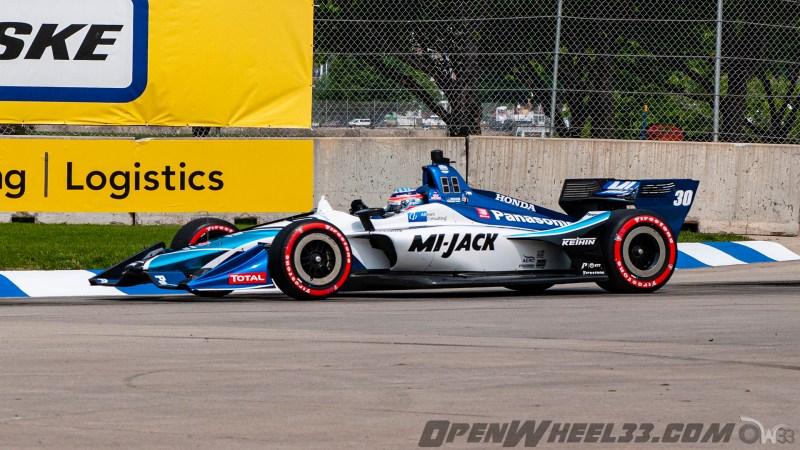 Liveries – 2019 NTT IndyCar Series Chevrolet Detroit Grand Prix - 2019 INDYCAR LIVERIES DETROITGP INDYCAR CAR No. 30