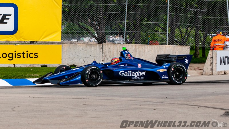 Liveries – 2019 NTT IndyCar Series Chevrolet Detroit Grand Prix - 2019 INDYCAR LIVERIES DETROITGP INDYCAR CAR No. 31