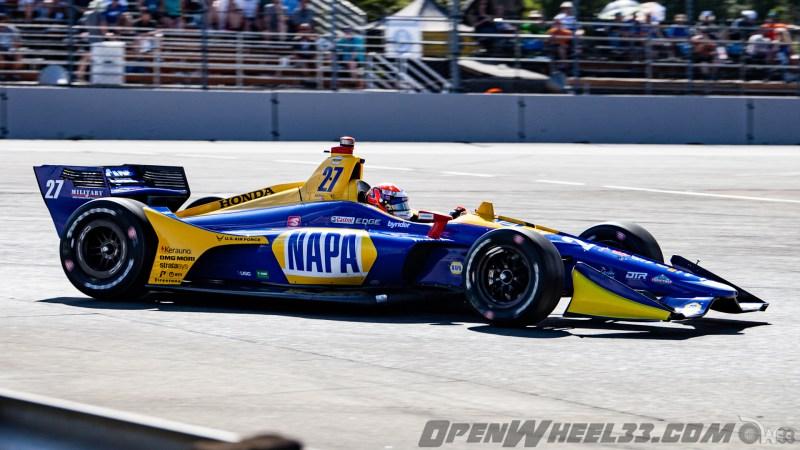 Liveries – 2019 NTT IndyCar Series Grand Prix of Portland - 2019 INDYCAR LIVERIES PORTLAND INDYCAR CAR No. 27