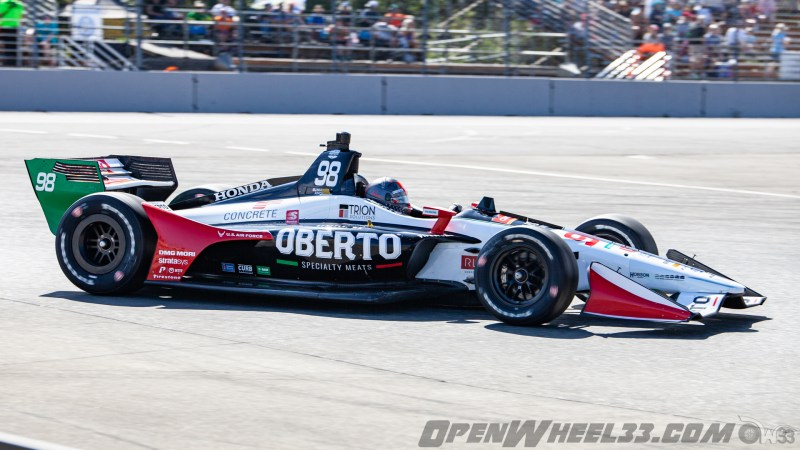 Liveries – 2019 NTT IndyCar Series Grand Prix of Portland - 2019 INDYCAR LIVERIES PORTLAND INDYCAR CAR No. 98