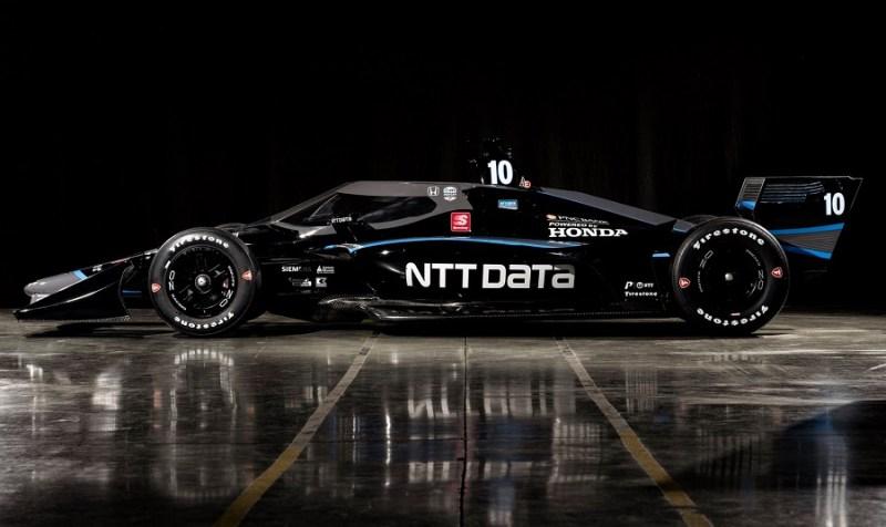 2020 INDYCAR LIVERIES CAR 10 NTT FEB REVEAL