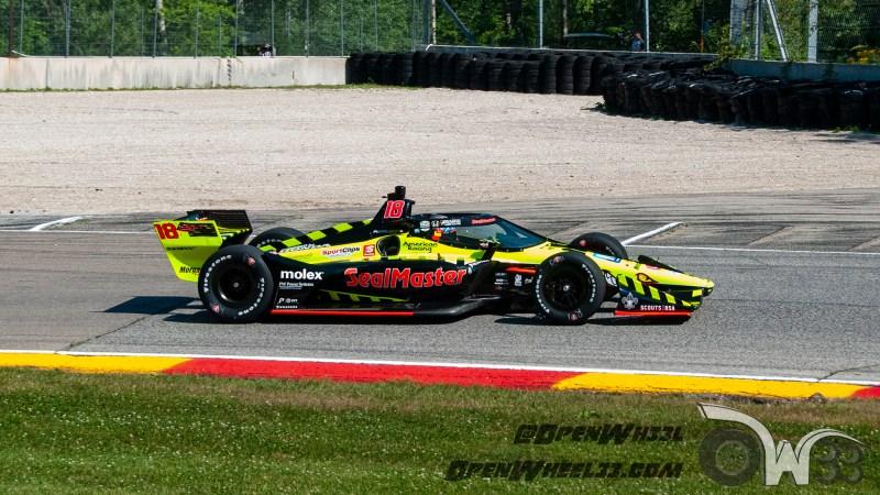 Liveries – 2020 REV Group Grand Prix at Road America - 2020 INDYCAR LIVERIES ROAD AMERICA INDYCAR CAR No. 18