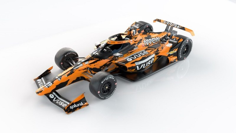 2021 INDYCAR LIVERIES MAY 500 REVEAL CAR 7