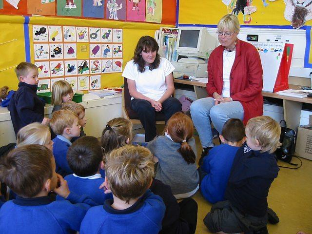 Classroom in Scotland