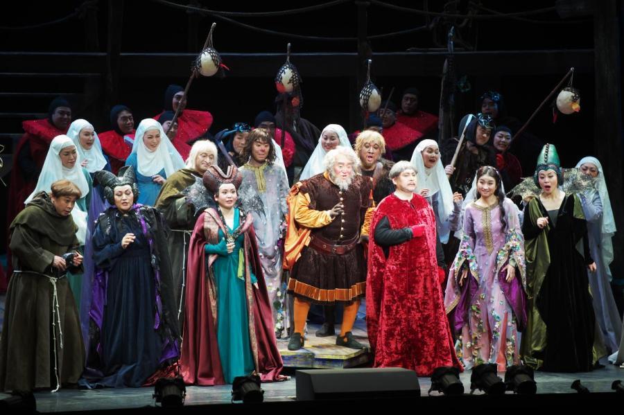 藤原歌劇団創立80周年記念公演《ファルスタッフ》