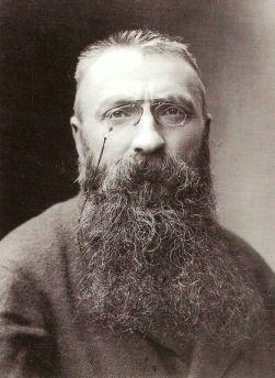 Auguste Rodin ritratto da Nadar, 1891